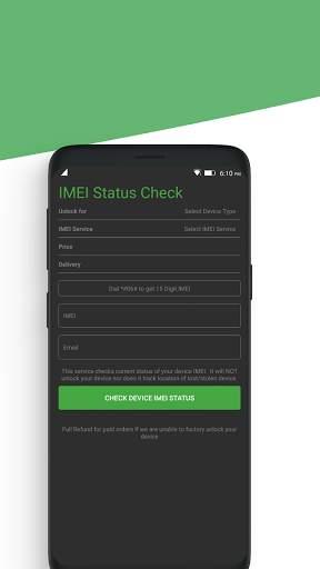 Free Unlock Network Code for Android Phones screenshot 7