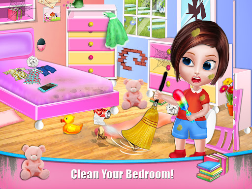 House Cleaning - Home Cleanup Girls Game screenshot 2