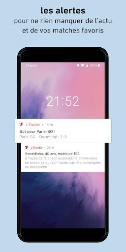 L'Équipe - Sport en direct : foot, tennis, rugby.. screenshot 1