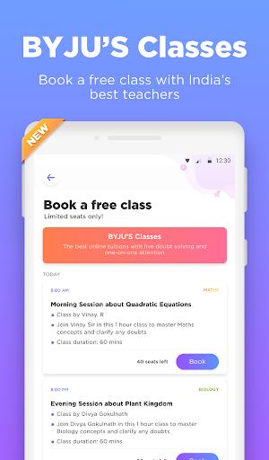 BYJU'S – The Learning App 10 تصوير الشاشة