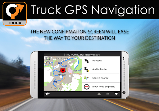 Truck GPS Navigation 10 تصوير الشاشة