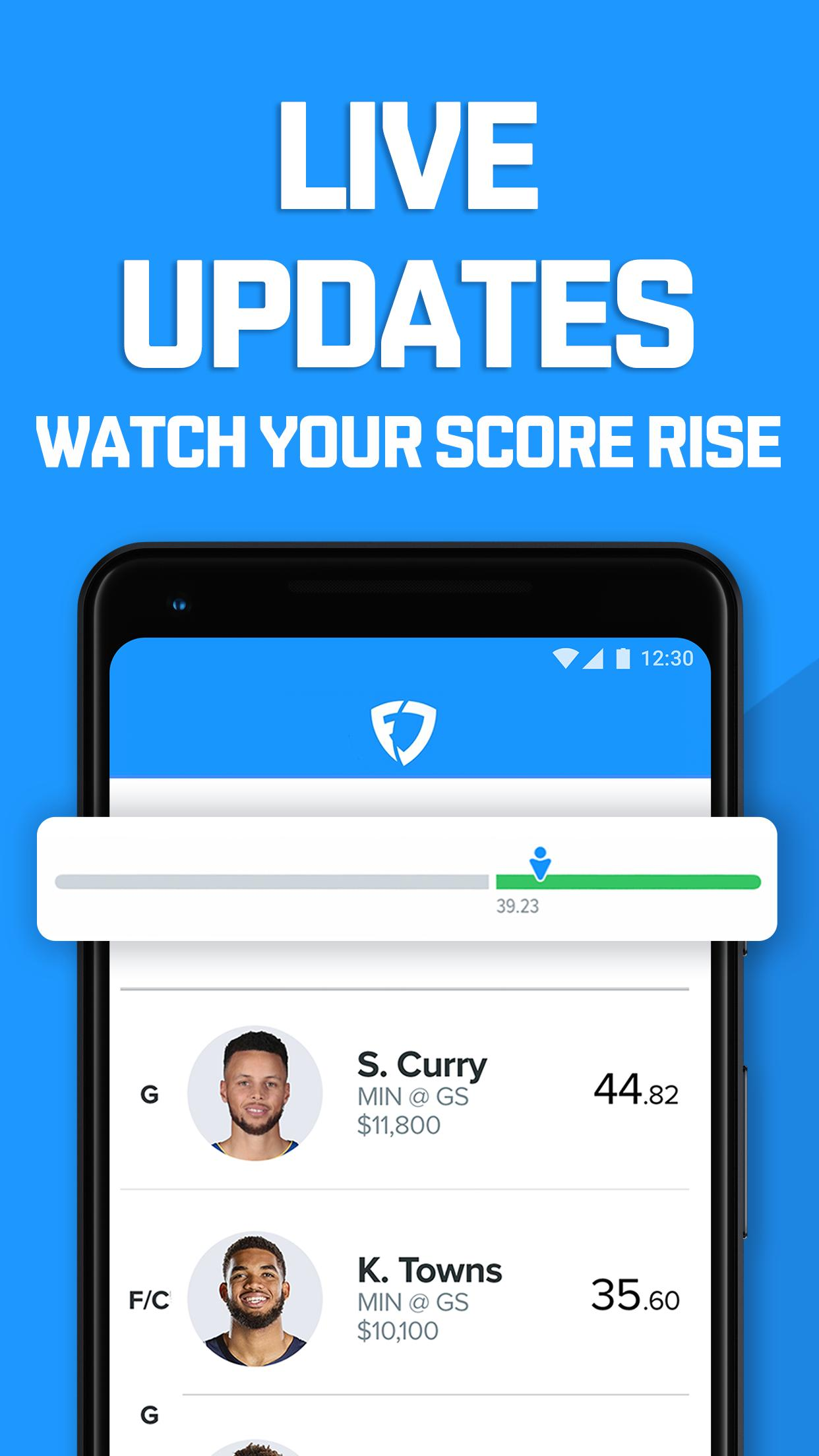 FanDuel - Daily Fantasy Sports: Fantasy leagues screenshot 4