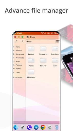 Launcher for Mac OS Style screenshot 4