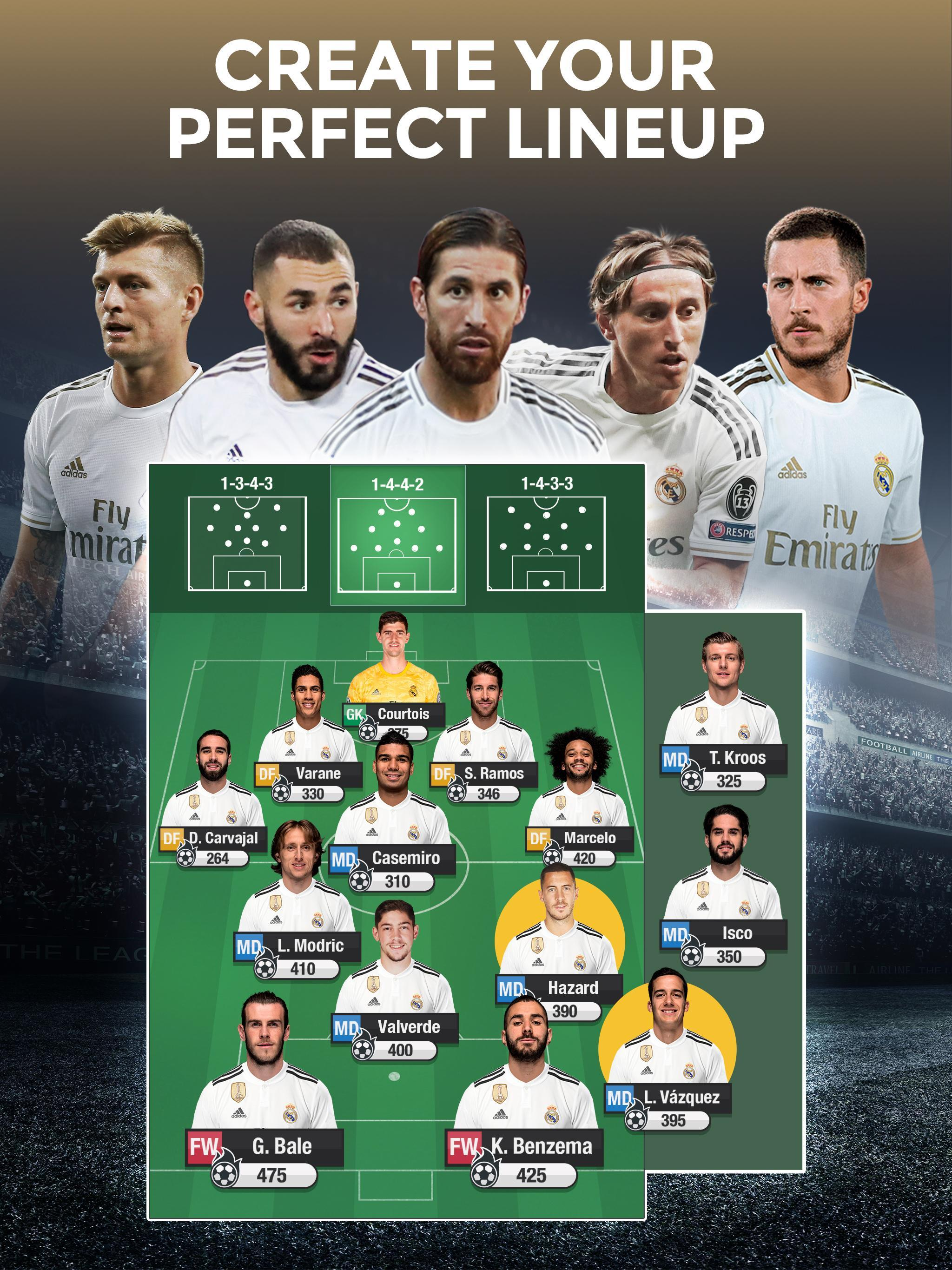 Real Madrid Fantasy Manager'20 Real football live 10 تصوير الشاشة