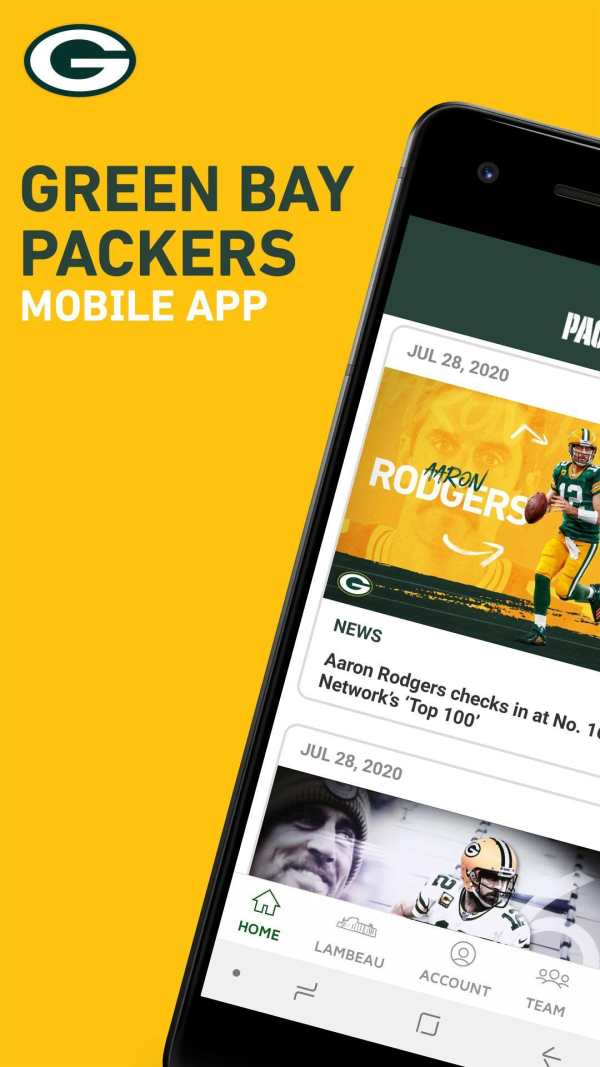 Official Green Bay Packers screenshot 1