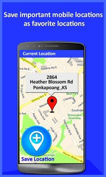Mobile Location Tracker 2020 2 تصوير الشاشة