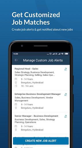 Naukri.com Job Search App: Search jobs on the go! 7 تصوير الشاشة