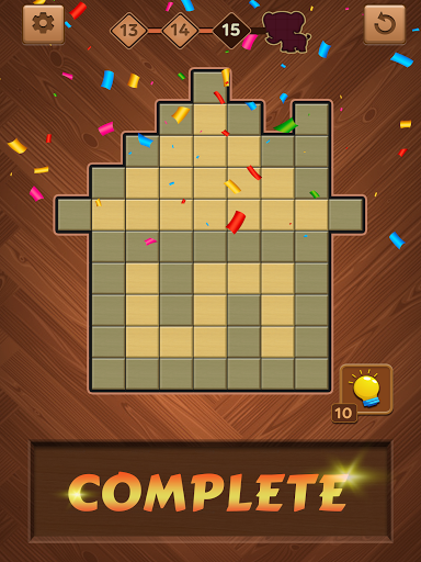 Jigsaw Wood Block Puzzle screenshot 15