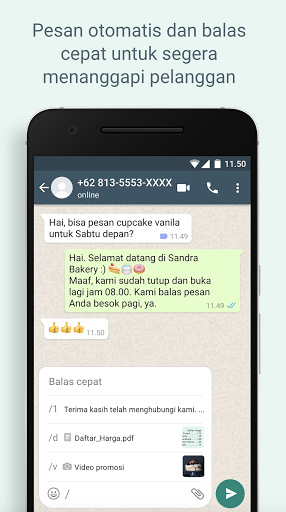 WhatsApp Business screenshot 2