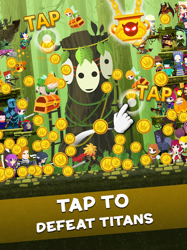 Tap Titans 2: Legends & Mobile Heroes Clicker Game 21 تصوير الشاشة