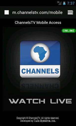 ChannelsTV Mobile for Androids 5 تصوير الشاشة