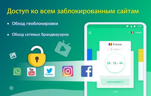 NetCapsule VPN   Бесплатный прокси, быстрый VPN скриншот 8