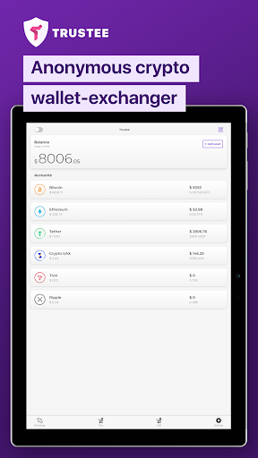 Trustee Wallet - best bitcoin and crypto wallet 9 تصوير الشاشة