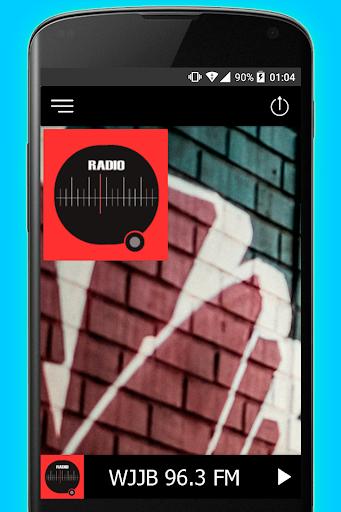 96.3 FM Big Jab WJJB Radio Station 2 تصوير الشاشة