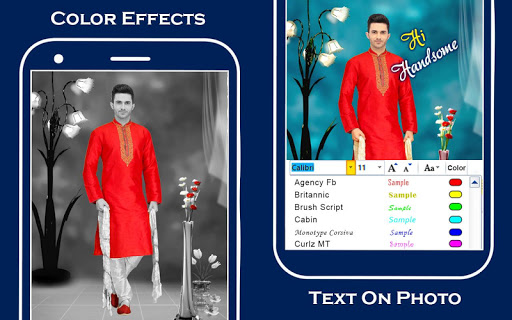 Men Sherwani Suit Photo Editor screenshot 4