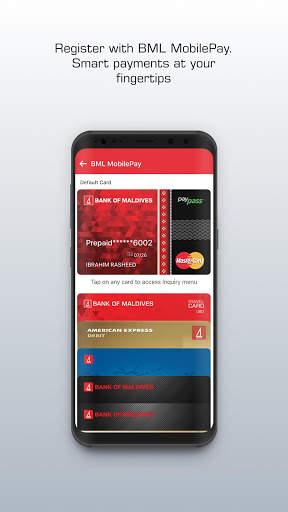 BML MobilePay 4 تصوير الشاشة