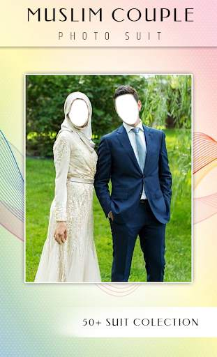 Muslim Couple Photo Suit screenshot 2