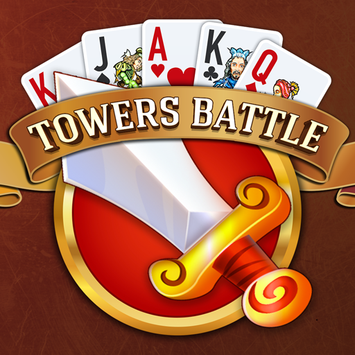 Towers Battle Solitaire Tripeaks أيقونة
