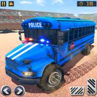 US Police Bus Demolition Derby Crash Stunts 2021 on APKTom