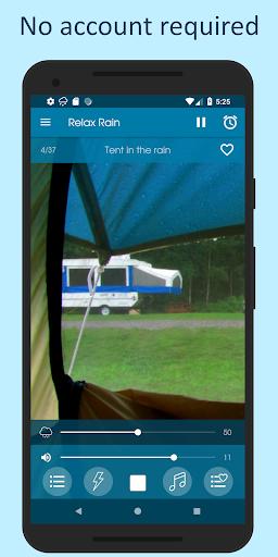الاصوات من المطر 8 تصوير الشاشة