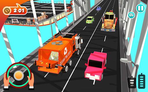 Urban Garbage Truck Driving - Waste Transporter screenshot 17