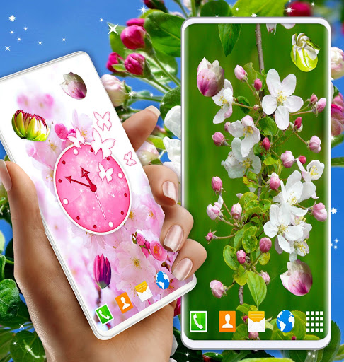 Cherry Blossom Live Wallpaper 🌸 Spring Wallpaper screenshot 5