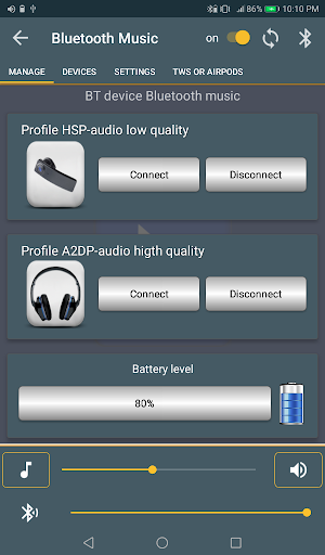 Bluetooth Music  Widget Battery TWS Pods FREE 10 تصوير الشاشة