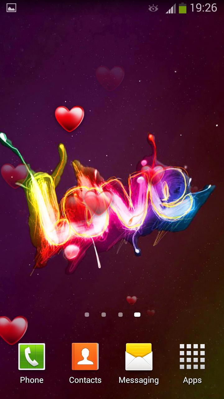 Love Live Wallpaper 5 تصوير الشاشة