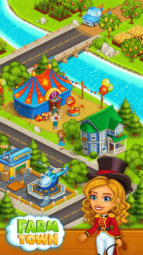 Farm Town: Happy farming Day & food farm game City screenshot 4