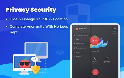 Free VPN Tomato | Fastest Free Hotspot VPN Proxy screenshot 10