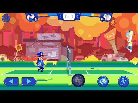 Volleyball Challenge - volleyball game screenshot 1