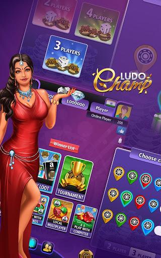 Ludo Champ 2020 - New Free Super Top 5 Star Game 5 تصوير الشاشة