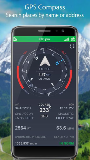 التجوّل الافتراضي المباشر وملاحةGPSوخرائطالأرض2021 5 تصوير الشاشة