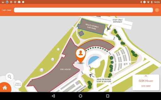 GSK SiteMap App 7 تصوير الشاشة
