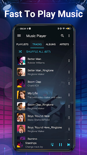 Music Player - Bass Booster & Free Music screenshot 8
