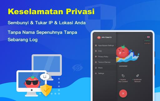 Free VPN Tomato | VPN Hotspot Percuma Terpantas screenshot 10