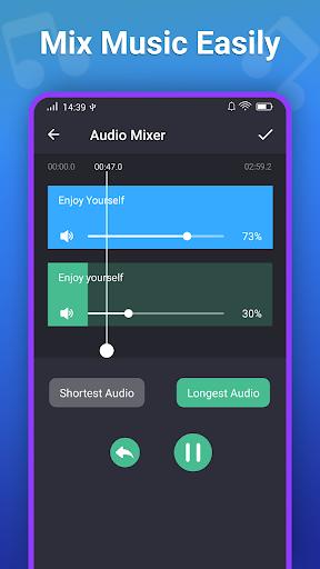 صانع النغمات MP3 محرر 4 تصوير الشاشة