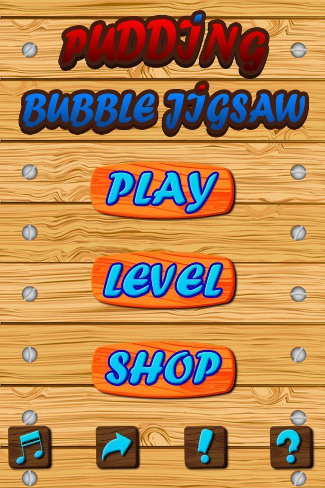Pudding Bubble Jigsaw screenshot 3