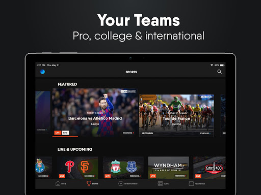 fuboTV: Watch Live Sports, TV Shows, Movies & News 16 تصوير الشاشة
