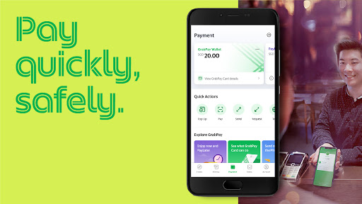 Grab - Transport, Food Delivery, Payments screenshot 5