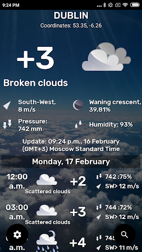 Weather: Any place on earth! 2 تصوير الشاشة