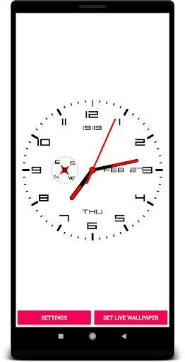 Clock Live Wallpaper screenshot 3