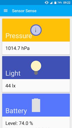 Sensor Sense Toolbox screenshot 1