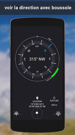 GPS Satellite carte direction & voix la navigation screenshot 6