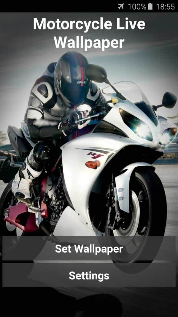 Motorcycle Video Wallpaper 1 تصوير الشاشة