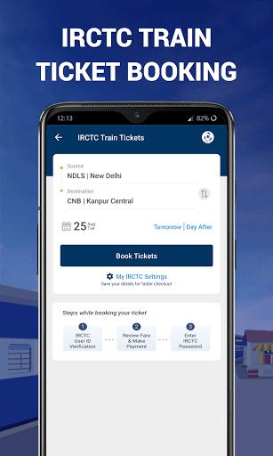 IRCTC Ticket, Train Status, Railway App: RailYatri screenshot 2