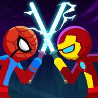 Stickman War: SuperHero Fight on 9Apps