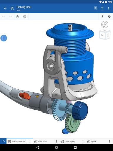 Onshape 3D CAD screenshot 5