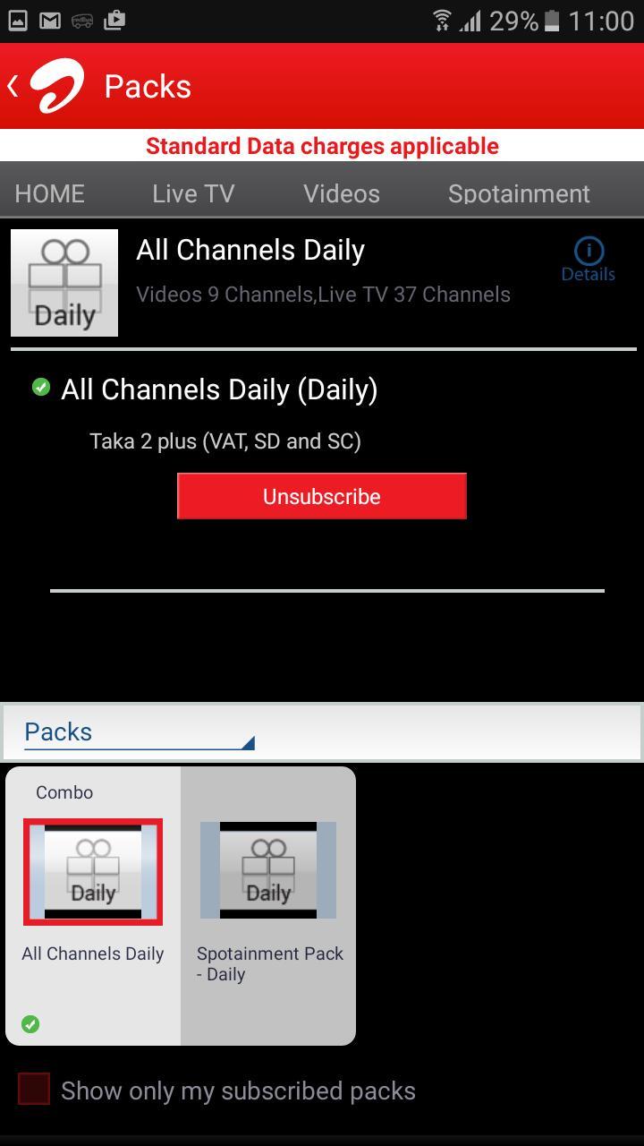 Airtel Mobile TV Bangladesh screenshot 4