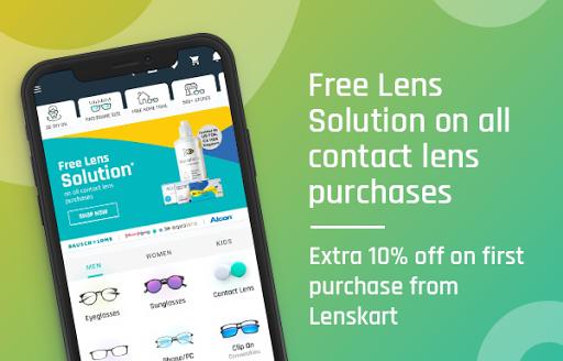 Lenskart: Eyeglasses, Sunglasses, Contact Lens App скриншот 2